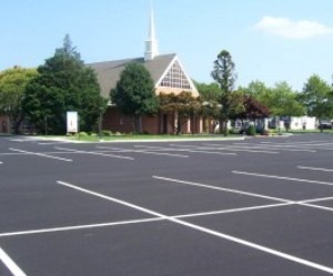 striping, Supreme Sealing, blacktop repair, asphalt repair, blacktop maintenance